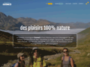 screenshot http://www.ozone3.fr canyoning et randonnée sur font romeu : ozone3