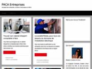 Site Internet de PACA Entreprises
