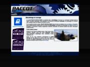 screenshot http://www.paccot-decolletage.com usinage de précision : paccot décolletage