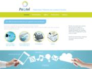 screenshot http://www.pacetel.fr/ Offres Télécom proposées par l'opérateur Pacetel