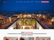 screenshot http://www.pachavana.com riad pachavana marrakech
