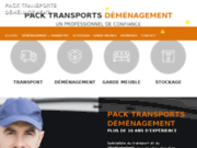 screenshot http://www.packtransportsdemenagement.com Déménagement
