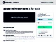 screenshot http://www.pacte-minceur.com maigrir avec coach sportif minceur en ligne