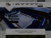 screenshot https://www.pai-impression.com Textile personnalisé