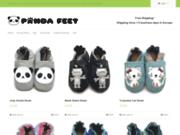 Pandafeet - Chaussons Bébé Cuir