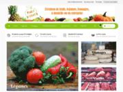 screenshot http://www.panier-primeurs.fr panier-primeurs - livraison de fruits et legumes
