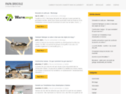 screenshot http://www.papabricole.com bricoleur depannage travaux