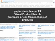 screenshot http://www.papier-de-soie.com papier de soie