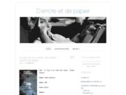 screenshot http://papierencre.wordpress.com D'encre et de papier