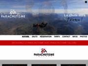 screenshot http://www.parachutisme-tallard.com/ parachutisme tallard : faites le grand saut