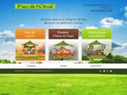 screenshot http://www.parcdelorval.com parc de loisirs en bourgogne à villethierry 89