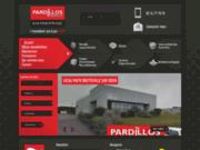 screenshot http://www.pardillos-immobilier.com Pardillos Immobilier
