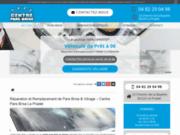 screenshot https://www.pare-brise-le-pradet.fr Pare-brise et vitrage au Pradet