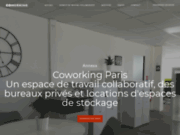 screenshot http://paris-coworking.space/ location de bureaux