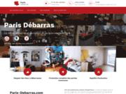 screenshot https://paris-debarras.com/ débarras maison