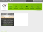 screenshot http://www.paris-enligne.credit-agricole.fr paris-enligne : votre crédit agricole en direct