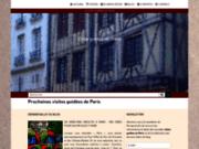 screenshot https://www.paris-grad.com/ guide touristique