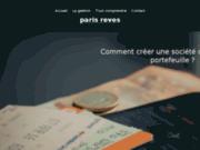 screenshot http://www.paris-reves.com Dîner croisière sur la Seine