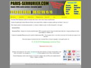 screenshot http://www.paris-serrurier.com paris-serrurier.com : la clef a tous vos problemes