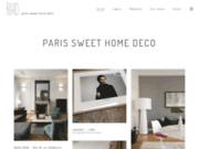 screenshot http://www.paris-sweet-home-deco.com paris sweet home deco - décoration d'intérieure