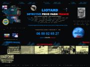 screenshot http://www.parisdetective.com liotard detective privé paris
