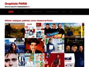 screenshot http://www.parisgraphiste.com graphiste à paris