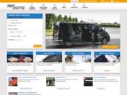 screenshot http://www.parishuttle.com/fr/ navette aéroport paris