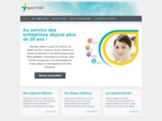 screenshot http://www.paritelpro.fr/ http://www.paritelpro.fr