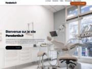 screenshot http://www.parodontie.fr la parodontie
