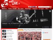 screenshot http://www.parsenlive.fr Pars En Live !