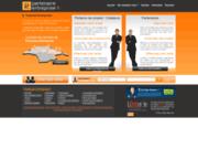 screenshot http://www.partenaire-entreprise.fr partenaire