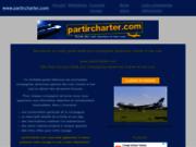 screenshot http://www.partircharter.com guide des compagnies aériennes et vols charters