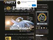 screenshot http://www.partytime.fr party time reggae dancehall web radio