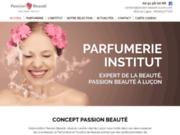 screenshot http://www.passion-beaute-lucon.com Passion Beauté
