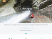 Passion Verticale - Escalade, Canyoning, Via ferrata