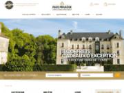 screenshot http://www.passprivilege.fr pass privilege, coffret cadeau régional