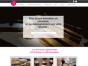 screenshot http://www.patiscoach.fr cours de pâtisserie à domicile