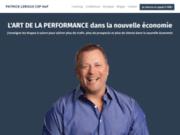 screenshot http://www.patrickleroux.com patrick leroux csp : conférencier en motivation et les clés du succès