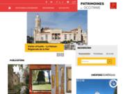screenshot http://www.patrimoines.midipyrenees.fr patrimoines midi-pyrénées