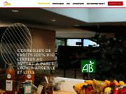 screenshot http://www.pause-fruitee.fr livraison de paniers de fruits en entreprise