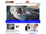 screenshot http://www.pavillonbelge.be navigation sous pavillon belge.
