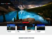 screenshot http://www.pays-monde.fr/ tourisme et voyage à travers les pays du monde