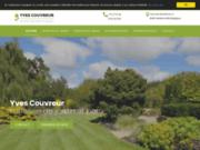 screenshot http://www.paysagiste-couvreur.com/ aménagement et création jardin dans la province de namur.