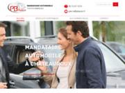 screenshot http://www.pbauto.fr Achat de véhicule neuf et d'occasion