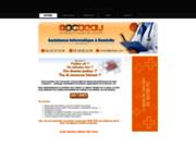 screenshot http://www.pcbeau.com dépannage informatique à domicile paris 75