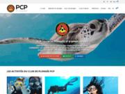 screenshot http://www.pcp.asso.fr plonger à paris: plongeurs cineastes parisiens pcp
