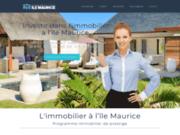 screenshot https://www.pdsilemaurice.fr Investissement immobilier à l'ile Maurice