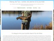 Étang de Tyx, pêche à la journée en Auvergne, Puy-de-Dôme