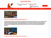 screenshot http://peintre-deco.fr/ Artisan Peintre Déco