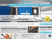 screenshot http://www.peintre-decorateur-hechard-86.com ravalement de façades à Buxerolles